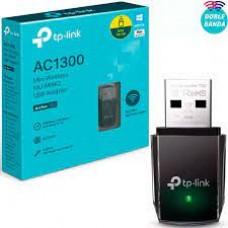 ADAPTADOR USB WIRELESS TPLINK ARCHER T3U AC1300 DUAL BAND