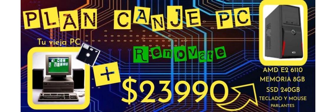 PLAN CANJE PC