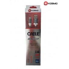 CABLE KOSMO MICRO USB / USB 2 METROS