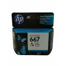 CARTUCHO HP 667 COLOR