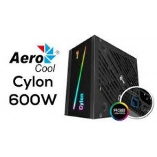 FUENTE ATX AEROCOOL  600W RGB CYCLON