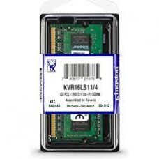 MEMORIA SODIM DDR3 4 GB KINGSTON 1600 MHZ
