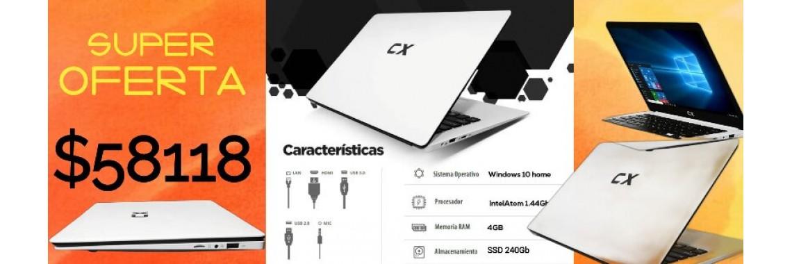 NOTEBOOK CX INTEL 4 GB ,