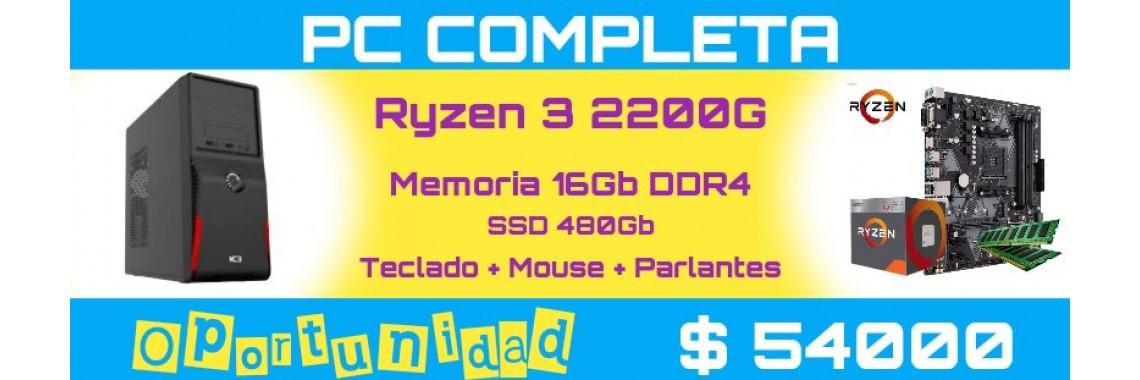 PC RYZEN 3 2200G-16GB-SS