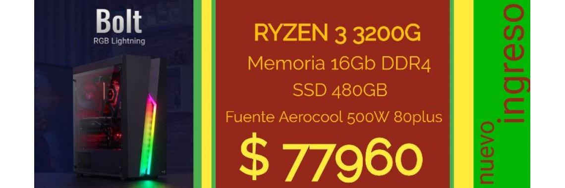 PC COMPLETA RYZEN 3 3200