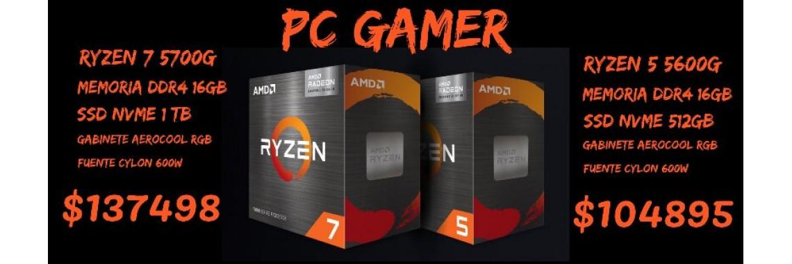 PC RYZEN 5 5600G -16GB -